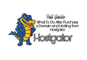 Purchase Domain Hosting via Hostgator
